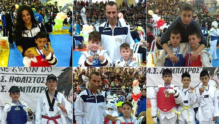 Σε αγώνες εμπειρίας στο Tae Kwon Do οι μικροί αθλητές του ΦΙΛΙΠΠΟΥ Αλεξάνδρειας (φώτο)