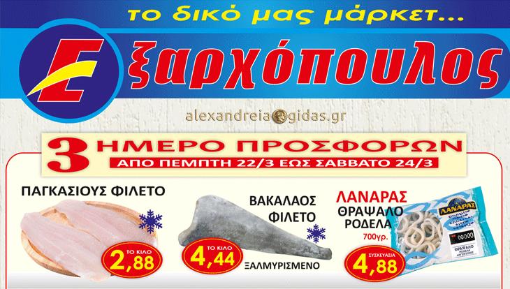 15+1 προσφορές μέχρι το Σάββατο στον ΕΞΑΡΧΟΠΟΥΛΟ – δείτε τιμές! (φώτο)
