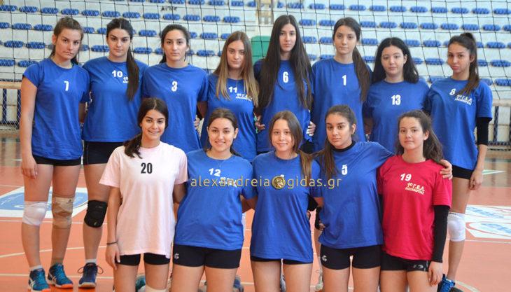 Ελληνικό Κολέγιο Θεσσαλονίκης – 1ο ΓΕΛ Αλεξάνδρειας 2-0 σετ: Προσπάθησαν αλλά ηττήθηκαν (φώτο-βίντεο)