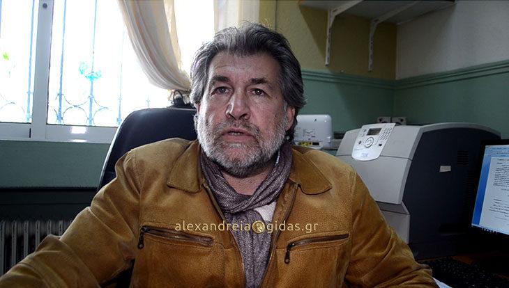 Μία νέα στήλη έρχεται στο Αλεξάνδρεια-Γιδάς (βίντεο)