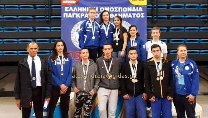 Μετάλλια και προκρίσεις στο 23ο Πανελλήνιο πρωτάθλημα για τους αθλητές του ΑΣΚ Αλεξάνδρειας