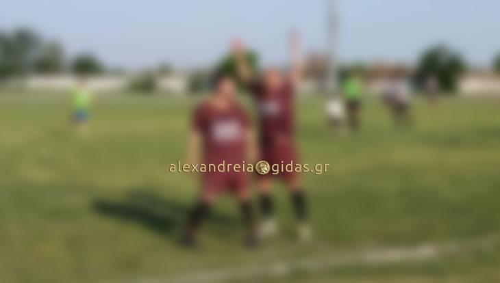 Γκολ στο ντέρμπι ΠΑΟΚ Αλεξάνδρειας – Αγκαθιά: Δείτε ποιος το πέτυχε! (φώτο)