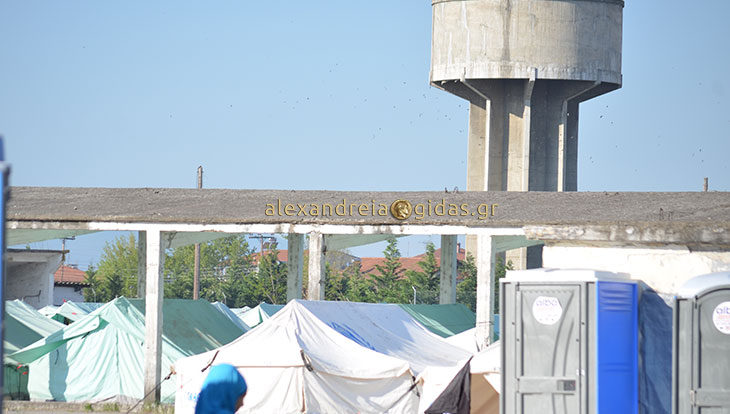 200 ακόμα πρόσφυγες έρχονται στο camp της Αλεξάνδρειας