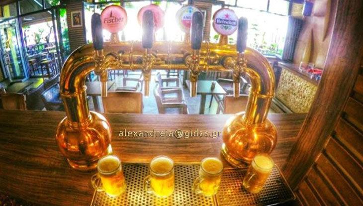 1+1 στα δροσερά βαρέλια μπύρας σήμερα Πέμπτη στο TRAFFIC