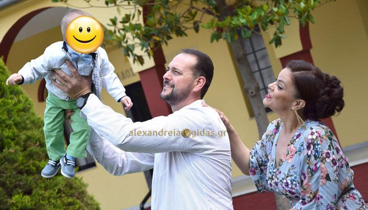 Και το όνομα αυτού ΜΑΡΙΟΣ! Βάπτισε το 2ο παιδί της η οικογένεια του Απόστολου Ζέρβα! (φώτο)
