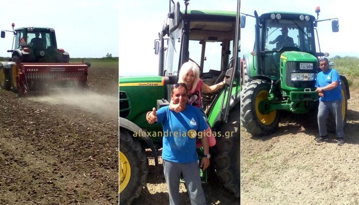 Η πρώτη καλλιέργεια βιομηχανικής κάνναβης στην Αλεξάνδρεια είναι γεγονός..(φώτο)