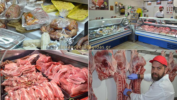 Κρεοπωλείο ΤΟΛΗΣ στην Αλεξάνδρεια: Επιλέξτε τα πιο φρέσκα, ντόπια, ελληνικά κρέατα! (φώτο)