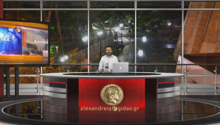 Το Δελτίο Ειδήσεων από τη WEB TV του Αλεξάνδρεια-Γιδάς (βίντεο)