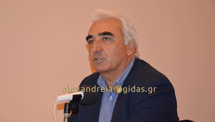 Ο υποψήφιος δήμαρχος Αλεξάνδρειας Μιχάλης Χαλκίδης για το σχέδιο «Κλεισθένης»
