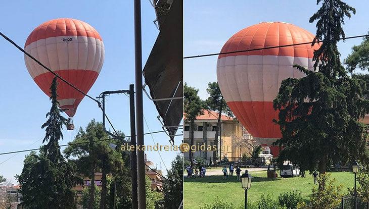 ΤΩΡΑ: Ένα τεράστιο αερόστατο πάνω από την Αλεξάνδρεια! (φώτο-βίντεο)