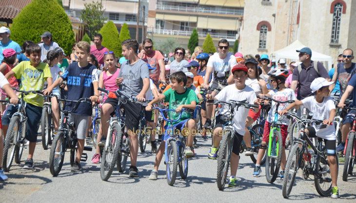 Μικροί και μεγάλοι απόλαυσαν τη βόλτα με το ποδήλατό τους στην Αλεξάνδρεια! (φώτο-βίντεο)