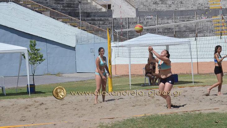 Το Σάββατο 16 Ιουνίου στο αμφιθέατρο Αλεξάνδρειας το 1ο Summer Camp Beach Volley