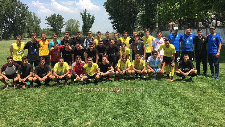 Μεγάλο φιλικό με τον Άρη Θεσσαλονίκης για τους Football Kings! (φώτο)
