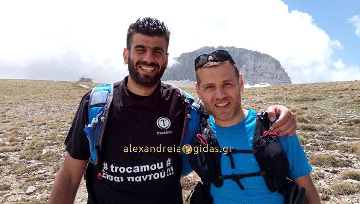 Κώστας Μιχαλόπουλος και Μάκης Κυριακού έτοιμοι για τα 44 χιλιόμετρα του Olympus Marathon (φώτο)