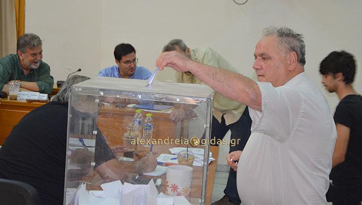 Ψηφίζει από το πρωί το Κίνημα Αλλαγής και στην Αλεξάνδρεια (φώτο)