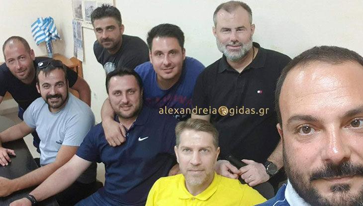 Ο Δημήτρης Πρίντζιος είναι ο νέος προπονητής των Τρικάλων (ανακοίνωση)