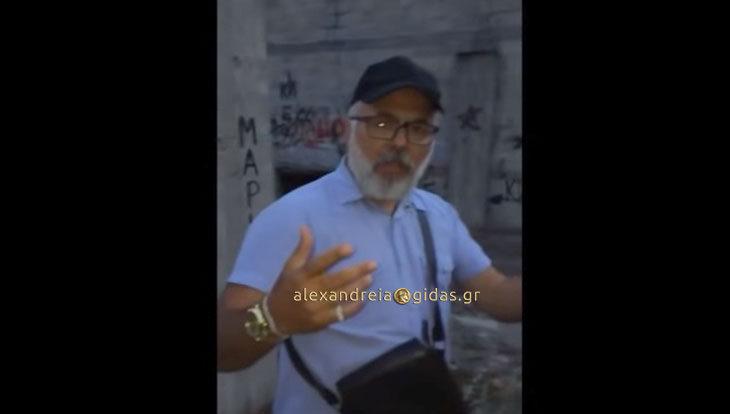 VIRAL ο manager TONY VERBS από την Αλεξάνδρεια και η κριτική του στον Μηδενιστή (βίντεο)
