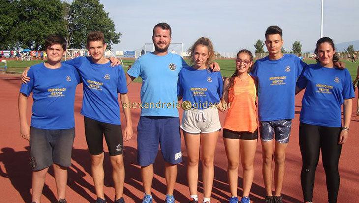 Με μετάλλια και ατομικά ρεκόρ οι αθλητές στίβου του ΓΑΣ Αλεξάνδρειας στα Ολύμπια στο Λιτόχωρο (φώτο)