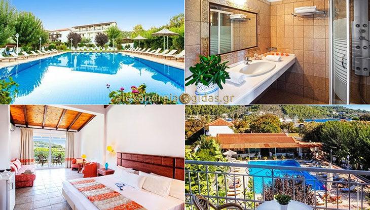 Σκέφτεστε διακοπές στη Σκιάθο; Προτιμήστε το Hotel Stellina που έχει σχέση με την Αλεξάνδρεια! (φώτο)