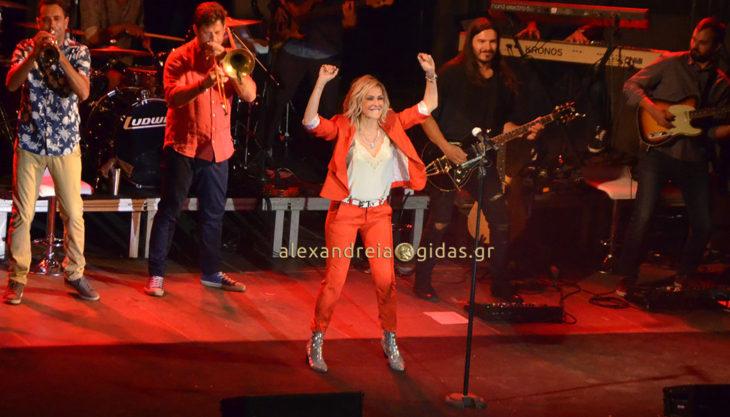 Η συναυλία της Άννας Βίσση στην Αλεξάνδρεια (βίντεο)