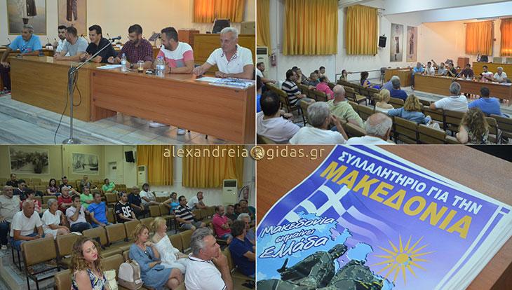 Συναντήθηκαν για το Συλλαλητήριο της Μακεδονίας που θα γίνει στην Αλεξάνδρεια (φώτο-βίντεο)