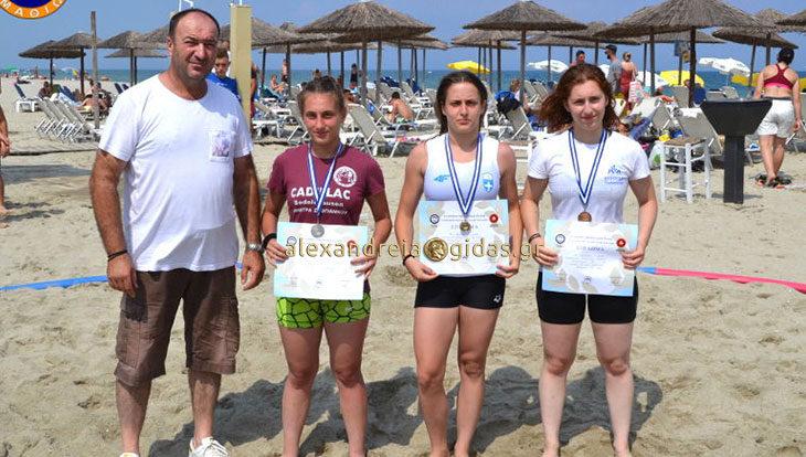 Η Γεωργία Γκουγκούδη διακρίθηκε στην πάλη στην άμμο – θα αγωνιστεί στο παγκόσμιο πρωτάθλημα στην Τουρκία