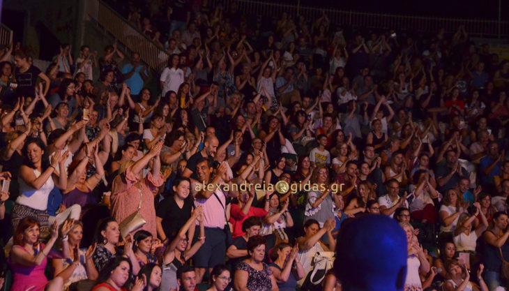 Η συναυλία του Γιάννη Κότσιρα στο αμφιθέατρο Αλεξάνδρειας (φώτο-βίντεο)
