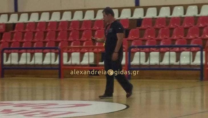 Δήλωση του προπονητή του μπασκετικού ΓΑΣ Αλεξάνδρειας: «Αυτοί είναι οι στόχοι της ομάδας μου»