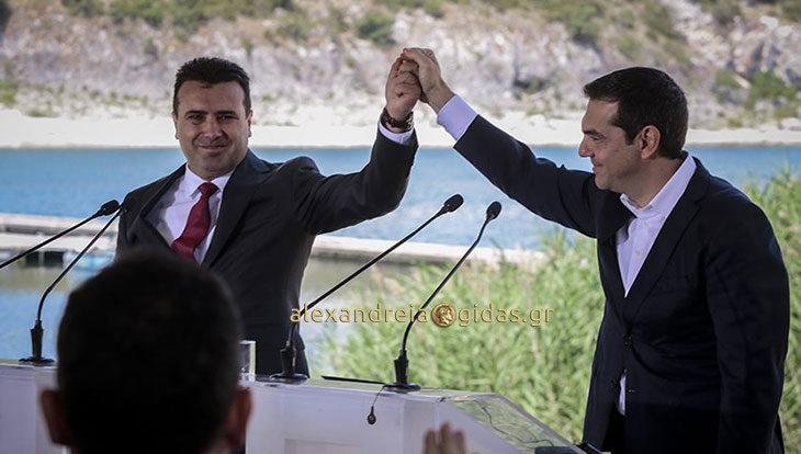Πανηγυρίζουν τα Σκόπια: Καταρρίπτονται οιισχυρισμοίτης κυβέρνησης για αμοιβαία και επωφελή συμφωνία