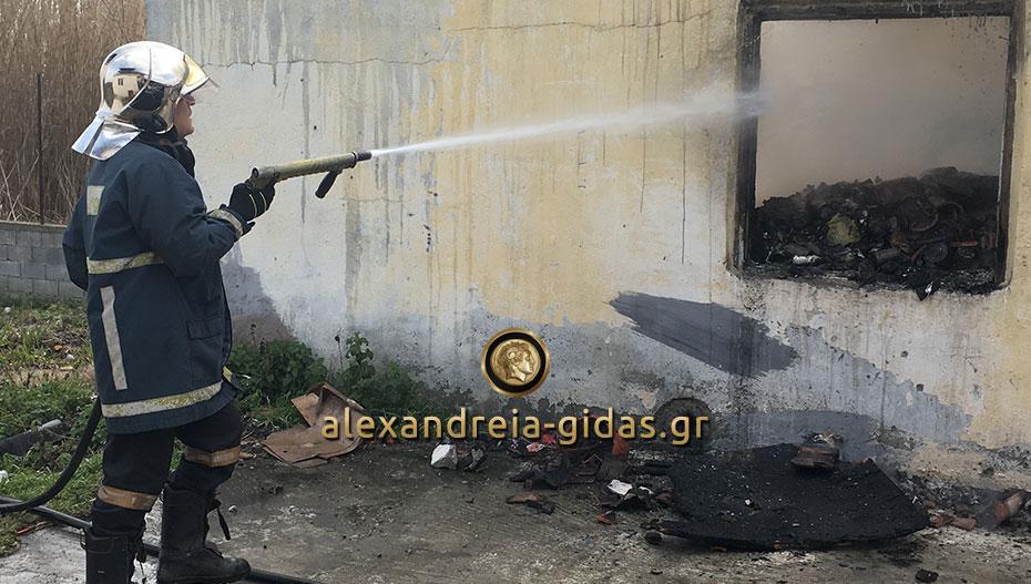 Φωτιά τα ξημερώματα σε σπίτι της Νάουσας – νεκρή ηλικιωμένη γυναίκα