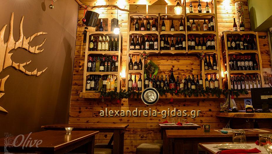 Βράδυ Τετάρτης με OLIVE και τις γεύσεις του στον πεζόδρομο Αλεξάνδρειας