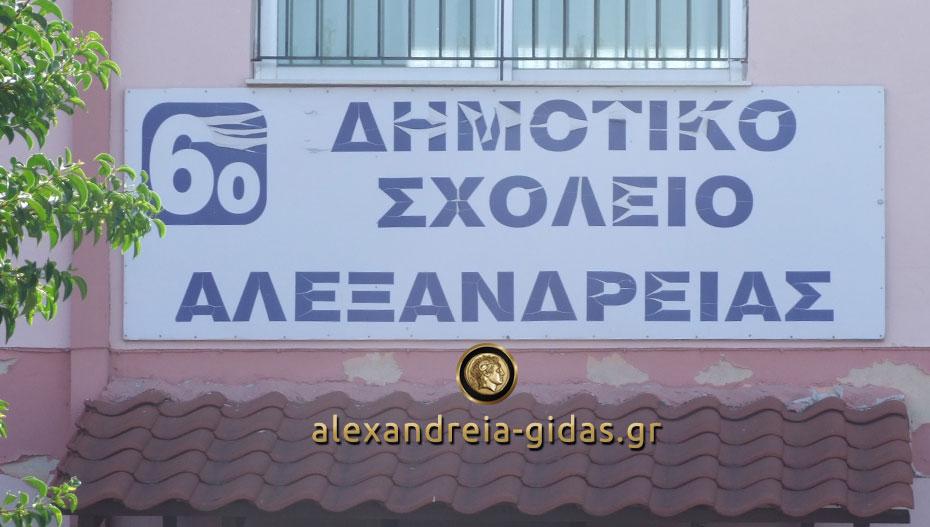 Ομιλία της Ελένης Στεργιοπούλου για τους εμβολιασμούς στα 2ο-6ο Δημοτικά Σχολεία Αλεξάνδρειας
