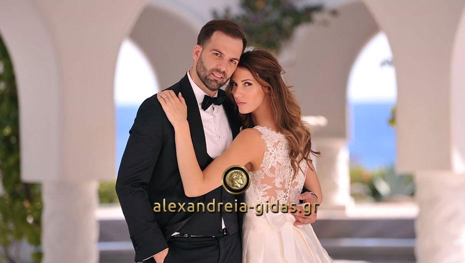Ένας γάμος από παραμύθι για τον Σωτήρη και την Αντωνία! (φώτο)