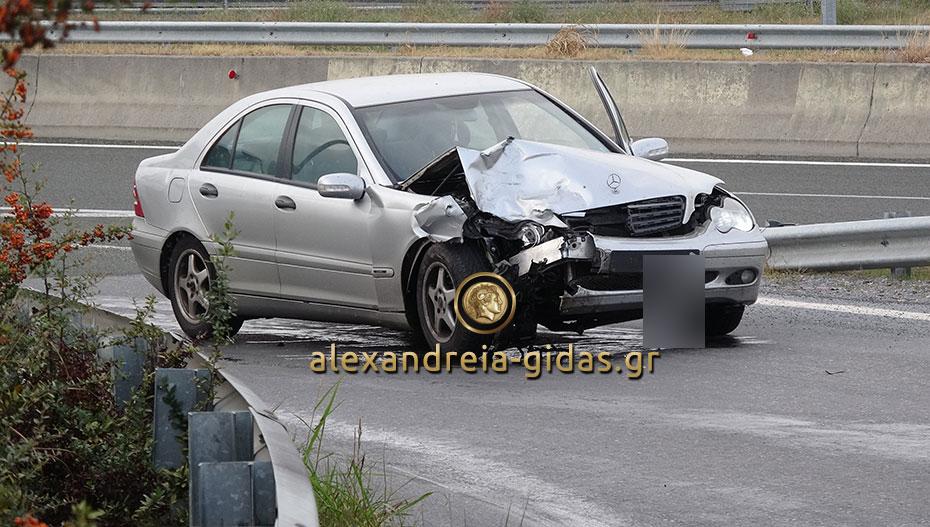 Τροχαίο ατύχημα στην Εγνατία Οδό έξω από το Νησέλι (φώτο-βίντεο)