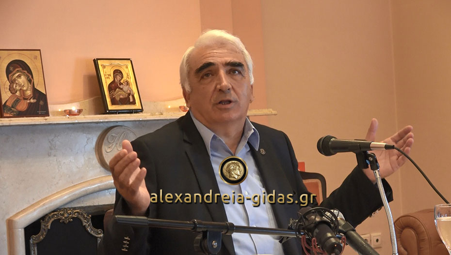 Απάντηση του Μ. Χαλκίδη στο Αλεξάνδρεια-Γιδάς: Δεν βρέθηκε ικανός ηγέτης γιαυτό και είμαι υποψήφιος (βίντεο)
