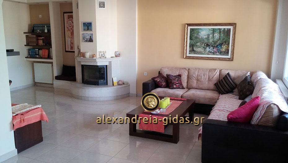 ΠΩΛΕΙΤΑΙ πολυτελές διαμέρισμα στην Αλεξάνδρεια (φώτο – πληροφορίες)