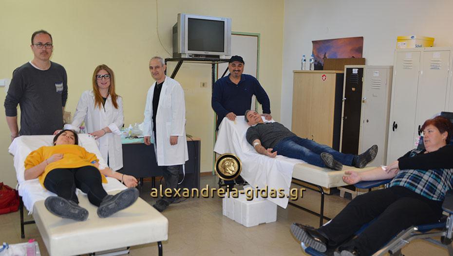 Ξεκίνησε η Αιμοδοσία στο Κέντρο Υγείας Αλεξάνδρειας – προλαβαίνετε μέχρι τις 12