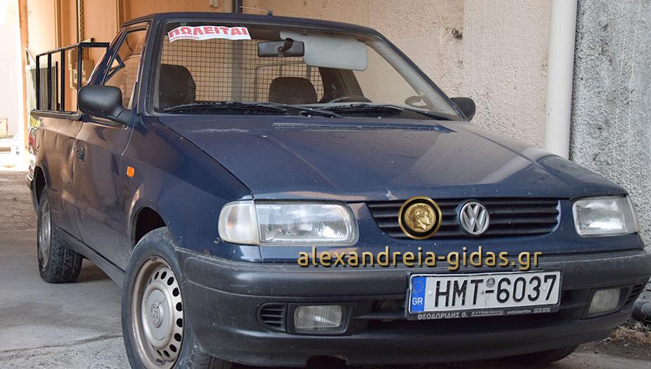 Πωλείται αγροτικό αυτοκίνητο Volkswagen Caddy στην Αλεξάνδρεια (φώτο-τιμή)