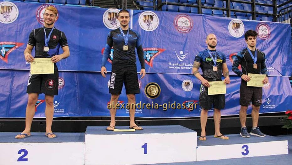Πρωταθλητής Ελλάδος στο Brazilian Jiu Jitsu ο Αντώνης Κούγκας από την Αλεξάνδρεια! (φώτο)