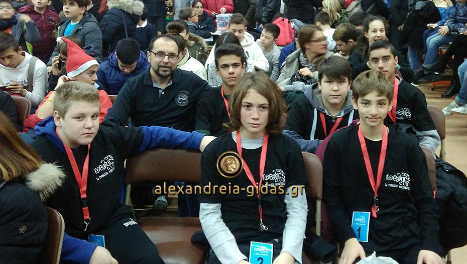 Στο 5ο Πανελλήνιο Φεστιβάλ Ρομποτικής οι μαθητές του Robotics Club του 1ου Γυμνασίου Αλεξάνδρειας (φώτο)