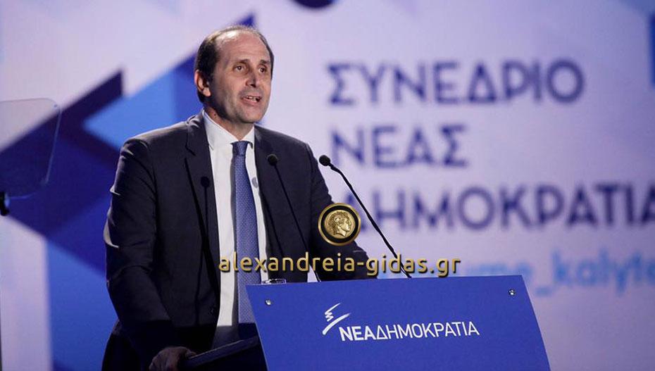Στη Βουλή έφερε το θέμα των καταστροφών στην Ημαθία από το χαλάζι ο Απόστολος Βεσυρόπουλος