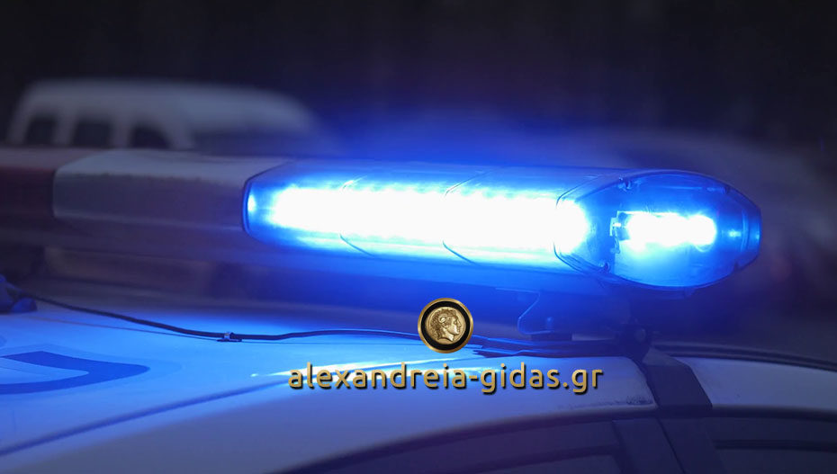 Είχαν ληστέψει 60χρονη σε περιοχή της Αλεξάνδρειας απειλώντας την με μαχαίρι