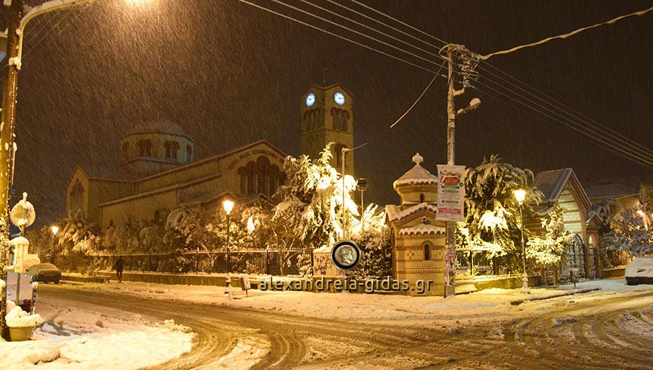 Η χιονισμένη Αλεξάνδρεια – αφιερωμένη στους μακρινούς και όχι μόνο φίλους! (φώτο-βίντεο)