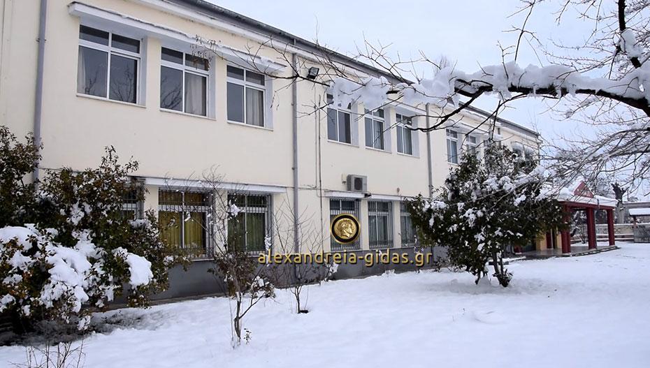 Κλειστά τα σχολεία του δήμου Αλεξάνδρειας την Πέμπτη 10 Ιανουαρίου