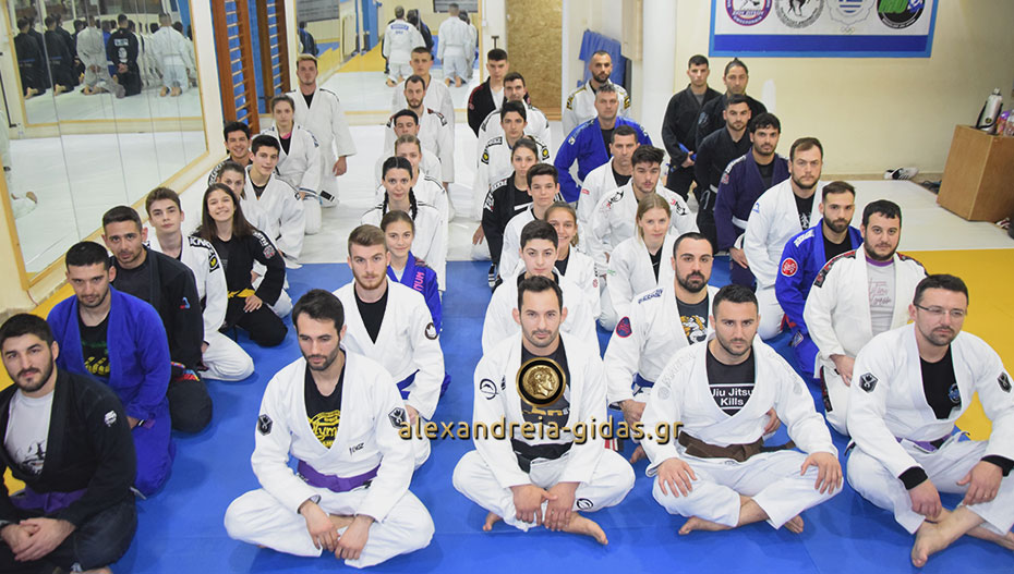 Πετυχημένο το σεμινάριο Brazilian Jiu Jitsu στον ΑΣΚ Αλεξάνδρειας – GSP BROS (φώτο-βίντεο)