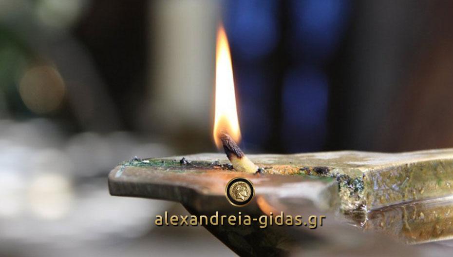 Συλλυπητήρια ανακοίνωση του δημάρχου Αλεξάνδρειας Παναγιώτη Γκυρίνη