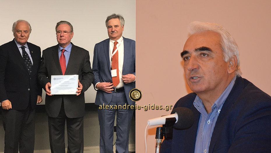 Μιχάλης Χαλκίδης: Κύριε Κυρόπουλε μας κάνατε περήφανους σε χαλεπούς καιρούς και σας ευχαριστούμε για αυτό