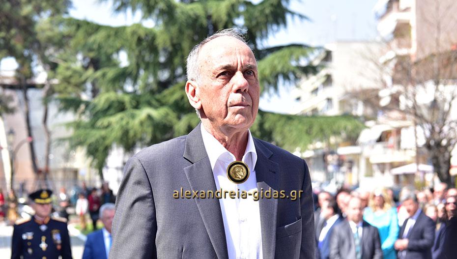 Αποδοκιμάστηκε ο Χρήστος Αντωνίου στην κατάθεση των στεφάνων στην Αλεξάνδρεια