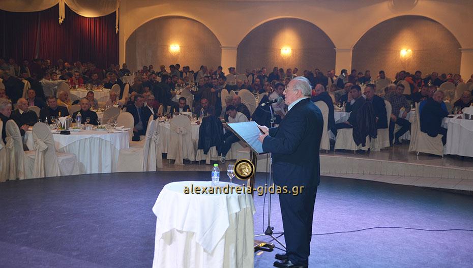 Η ετήσια εκδήλωση των εκκοκκιστηρίων ΚΡΟΥΣΤΑΛΛΗΣ στο κατάμεστο ΑΛΕΞΑΝΔΡΕΙΟ (εικόνες-βίντεο)
