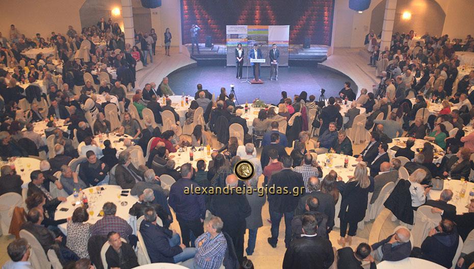Το αδιαχώρητο στην ομιλία του Κώστα Ναλμπάντη στο ΑΛΕΞΑΝΔΡΕΙΟ – δείτε εικόνες και βίντεο!